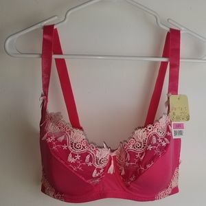 Parfait by Affinitas Padded Bra [Hot Pink - 3621]